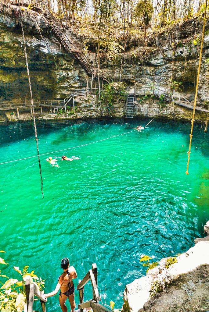 X'Canche cenote in Mexico