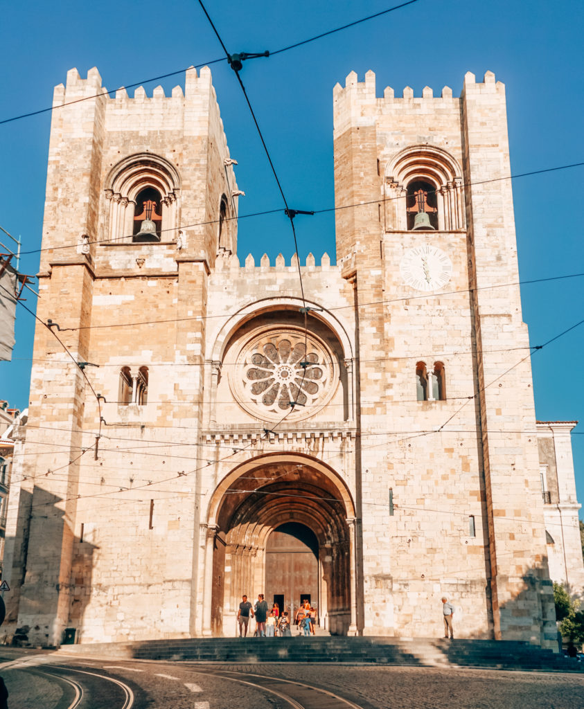 Sé Cathedral in Lisbon
