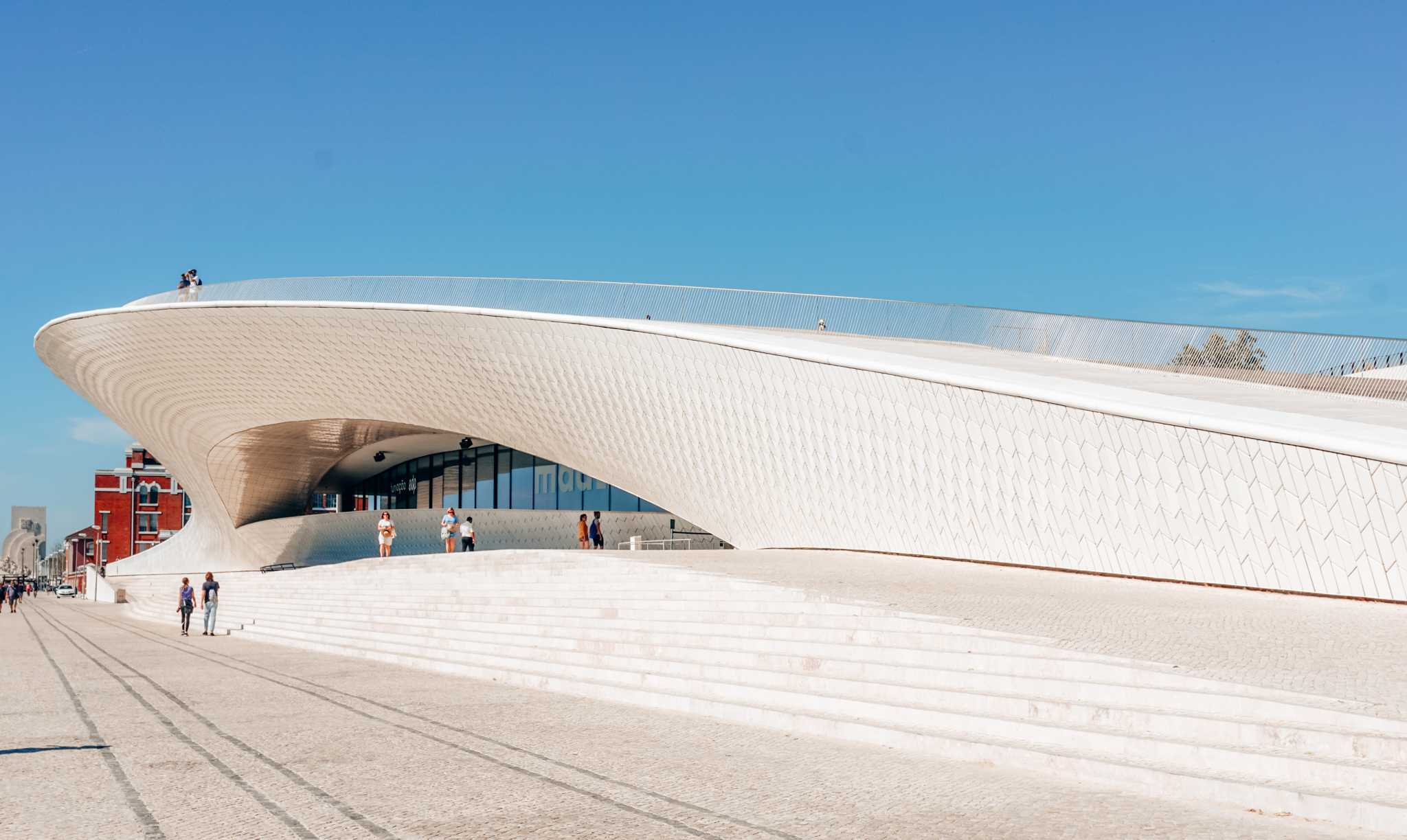 Museum of Art, Architecture and Technology (MAAT) in Lisbon